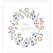 CD07 Wreath of paws