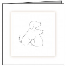 CD04 Dog and Cat Outline